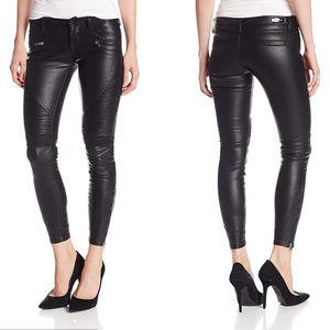 Blank NYC Black Vegan Leather Skinny Pants
